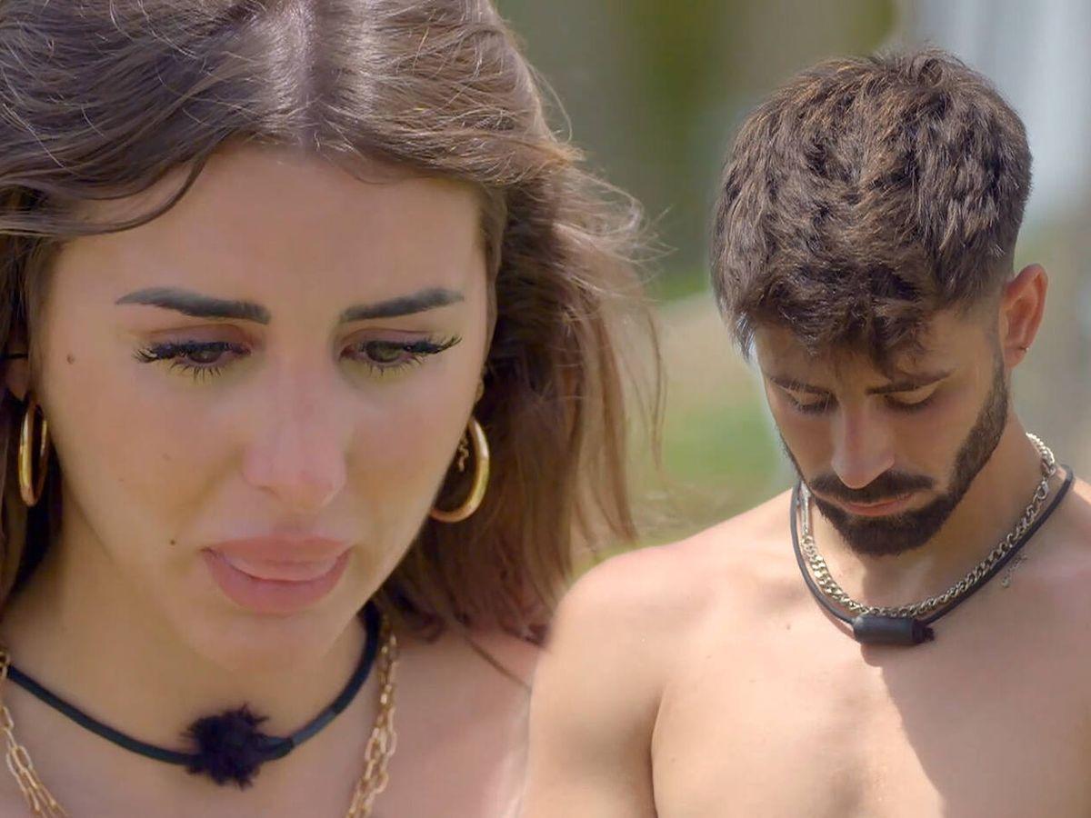 Foto: Marina e Isaac, en 'La última tentación'. (Mediaset)