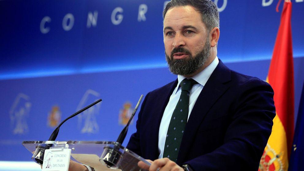Abascal responde a Sánchez: España Siempre será el lema de Vox para el 10-N