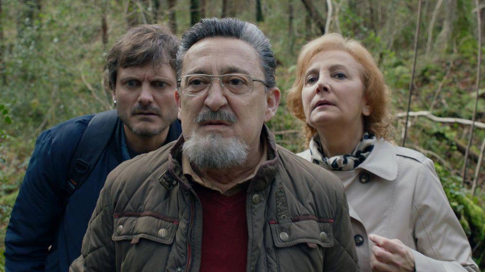 Foto: Imagen del último capítulo de 'Allí abajo' emitido por Antena 3. (Atresmedia)