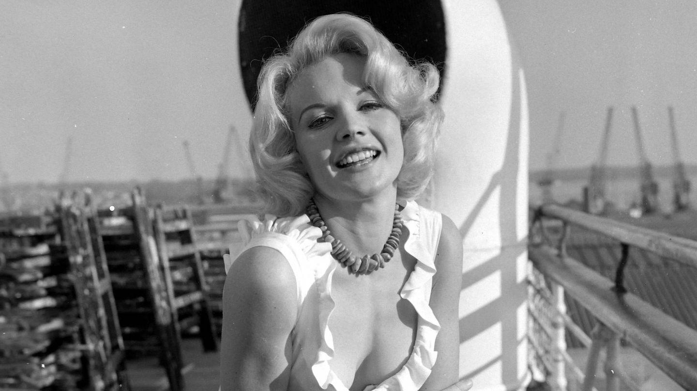 La actriz, en 1964. (CP)