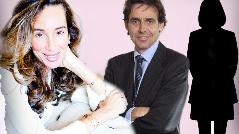 Foto: Elisa Pinto y López Madrid en un montaje de Vanitatis