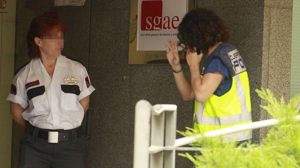 Fianzas de 100.000 euros para tres de los arrestados en la 'rueda' de la SGAE