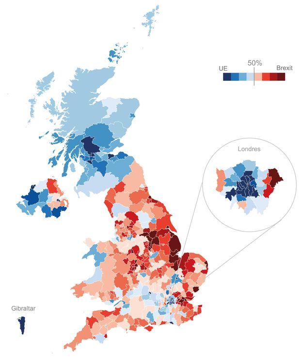 Foto: Mapa del voto. (ECLaboratorio)