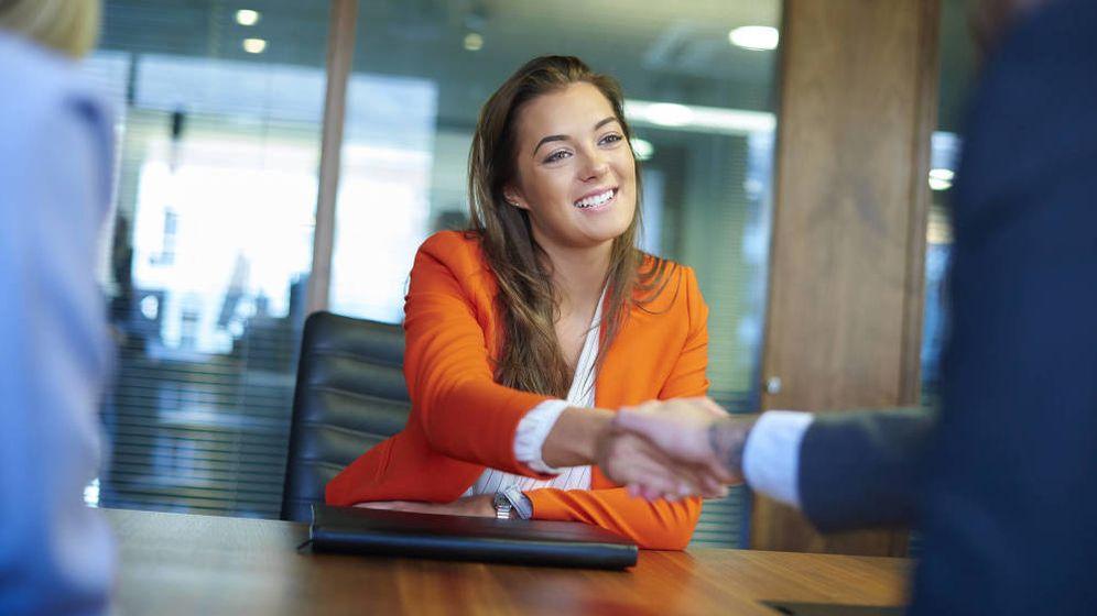 Foto: Una entrevista de trabajo feliz. (iStock)