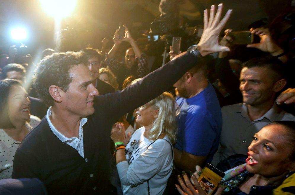 Foto: Albert Rivera, el pasado 31 de octubre, en su mitin de apertura de campaña en Cádiz. (EFE)