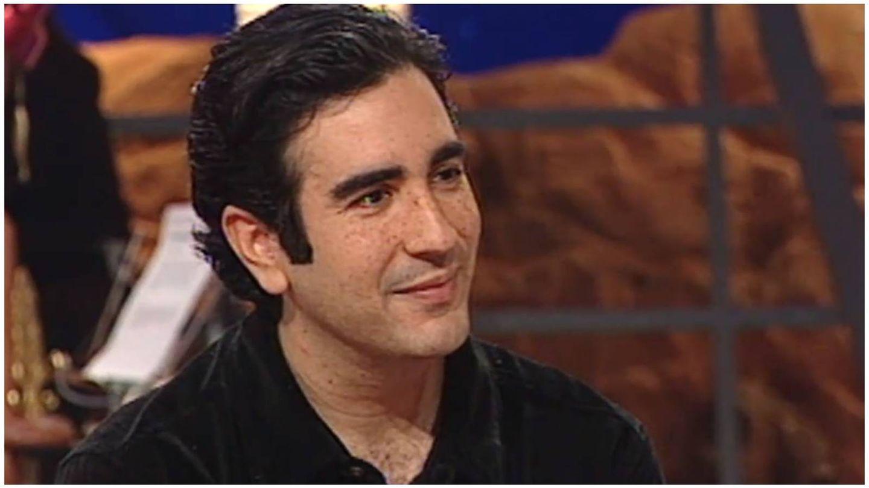 Agustín Pantoja, en su entrevista en 'Crónicas marcianas'. (Mediaset)