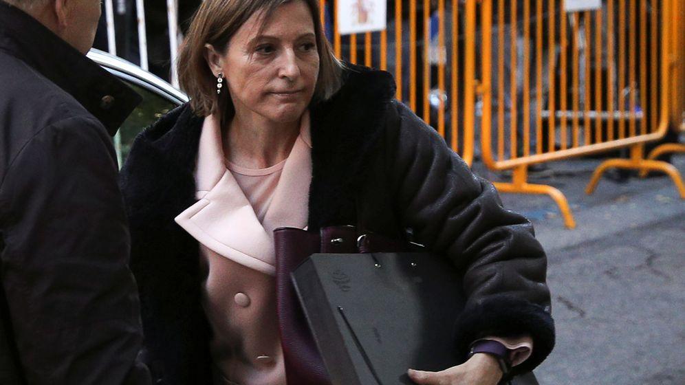 Foto: Forcadell a su llegada al TS. (Reuters)