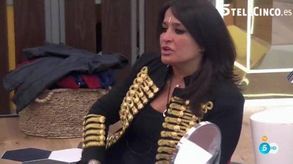 Foto: Aida Nízar sufrió un descuido en 'GH VIP' por no llevar ropa interior