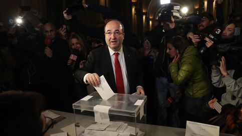 Iceta llama a votar para cambiar el rumbo de la política catalana tras votar