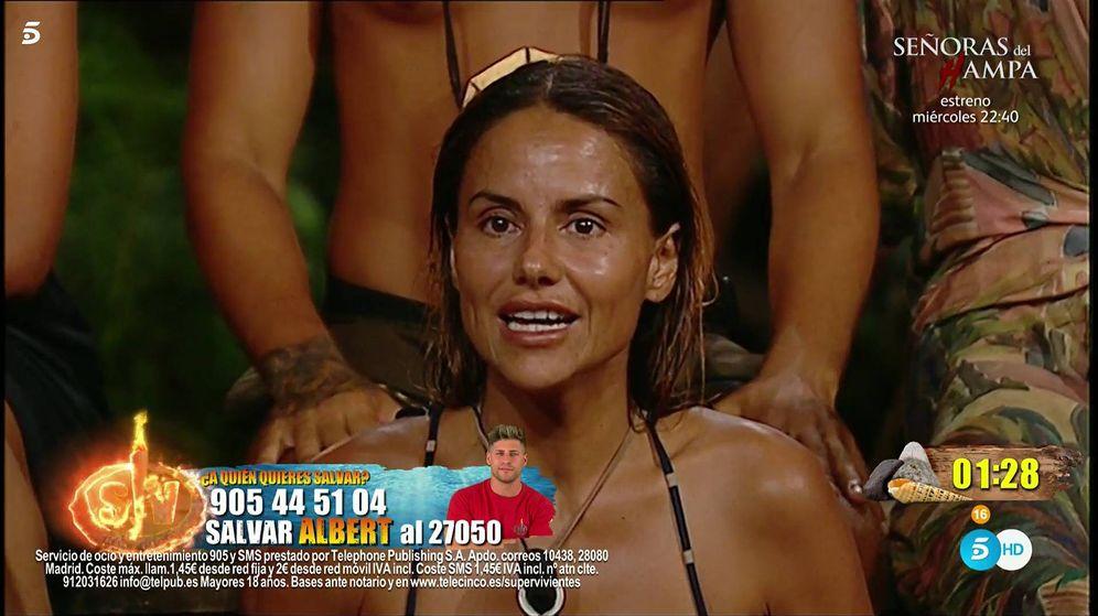 Foto: Mónica Hoyos, en 'Supervivientes 2019'. (Telecinco)