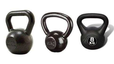 Las mejores 'kettlebells' o pesas rusas para tu entrenamiento en casa