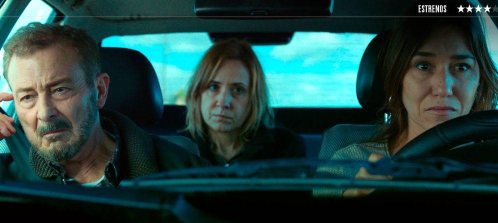 Foto: Juan Diego, Nathalie Poza y Lola Dueñas protagonizan 'No sé decir adiós'.