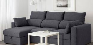 Post de Si buscas sofá en Ikea, este modelo tiene descuento: nos encanta con estos cojines extra