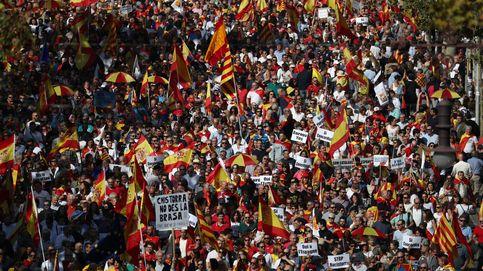80.000 personas salen a las calles de Barcelona para exigir el final del 'procés'
