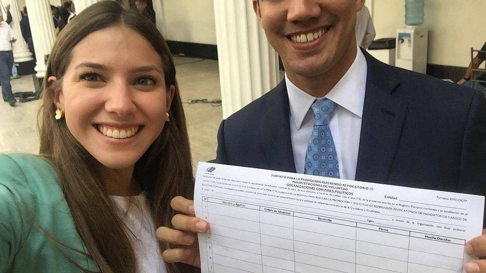 Instagramer, periodista y mujer de Juan Guaidó: así es Fabiana Rosales