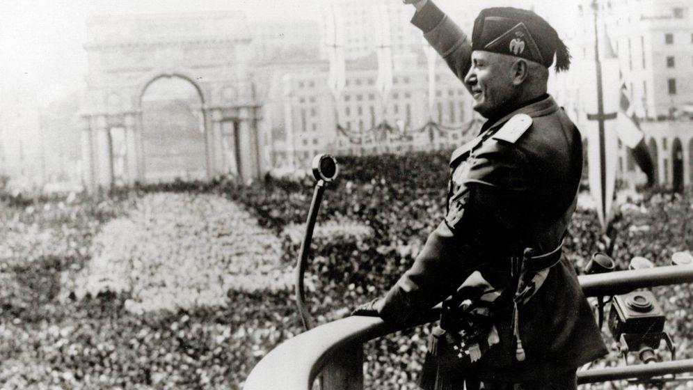 Foto: Benito Mussolini en 1940. (Cordon Press)