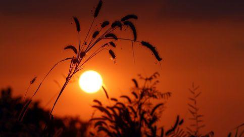 Puesta de sol en Rangún