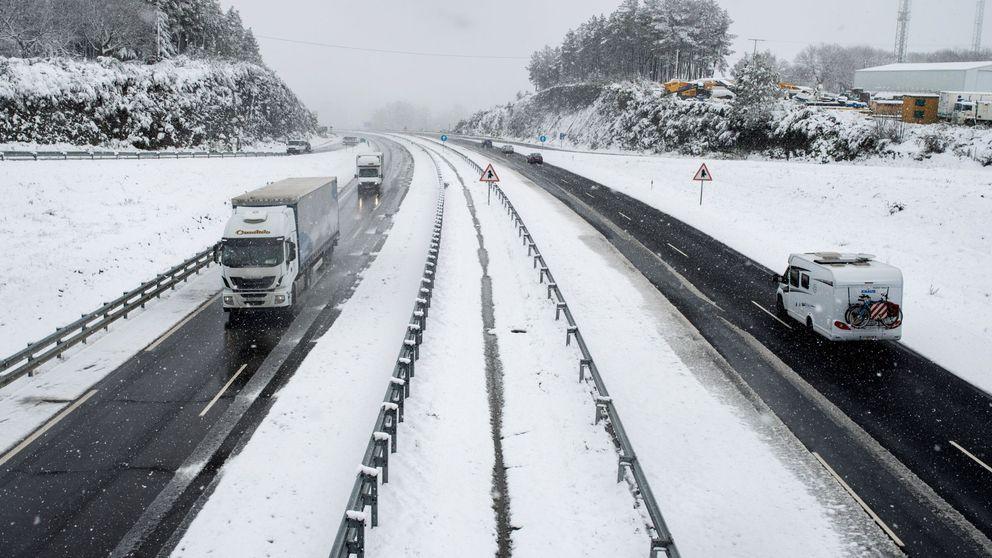 La DGT señala las carreteras más problemáticas ante las nevadas