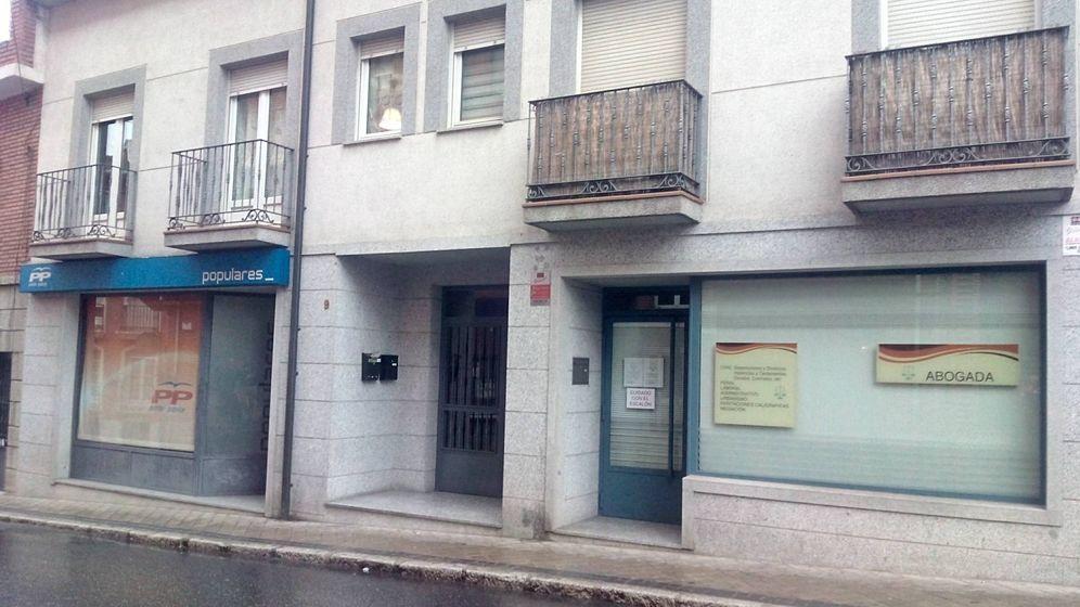 Foto: La sede del PP en Colmenar Viejo.