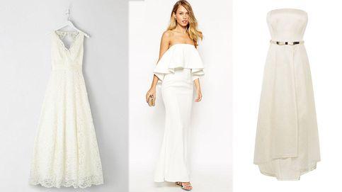 Vestidos de novia entre los 39,99 euros y los 500 euros