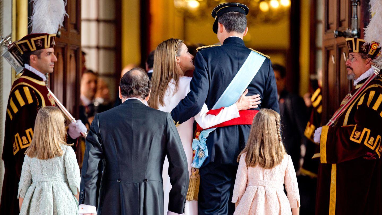 La proclamación de Felipe VI. (Gtres)