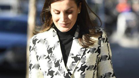 Leggings de cuero y chaqueta chic de Uterqüe: el último look de la reina Letizia