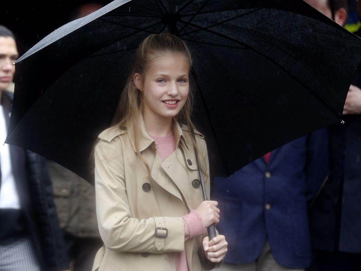 Foto: La princesa Leonor, en 2019. (EFE)
