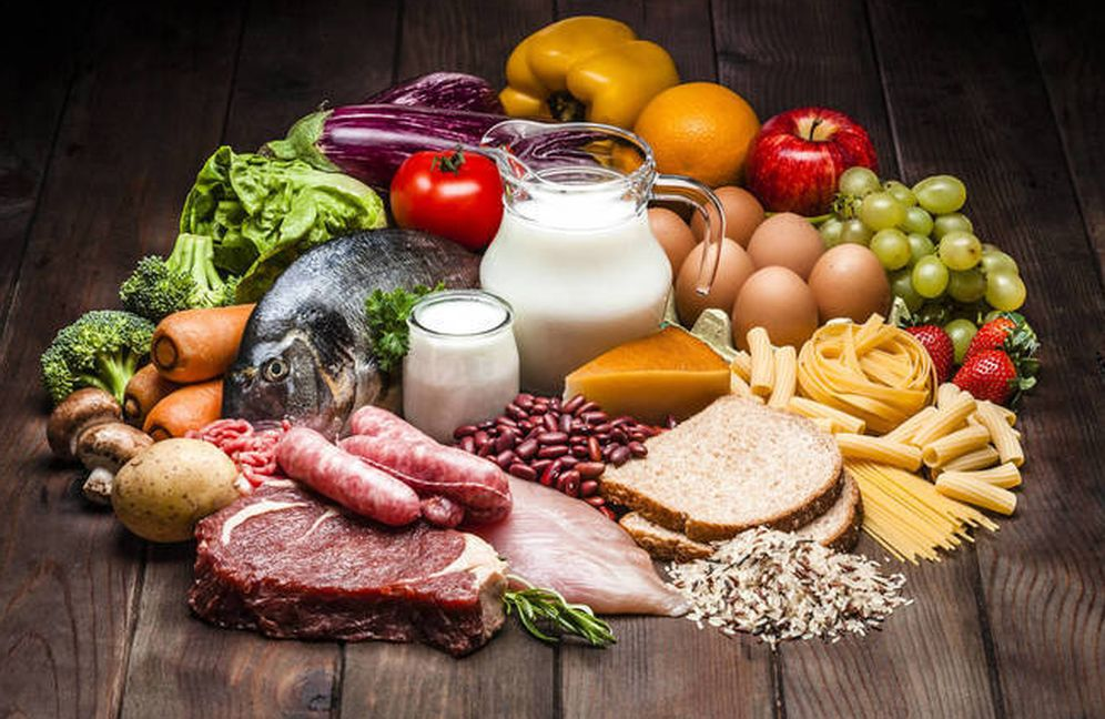 Foto: Alimentos ricos en proteínas (iStock)