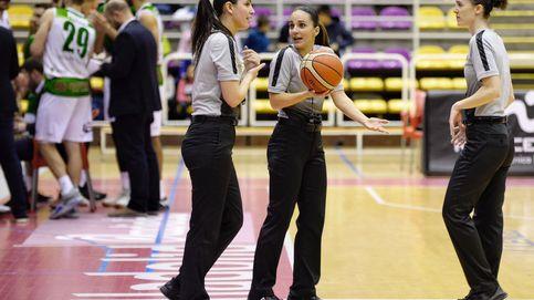 ¿Tres mujeres arbitrando en baloncesto? La respuesta del entrenador del Valladolid