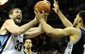 Marc Gasol brilla ante los Spurs y exhibe su gran momento de forma