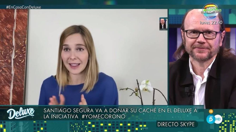'Sábado Deluxe': el aplaudido gesto de Santiago Segura para luchar contra el coronavirus