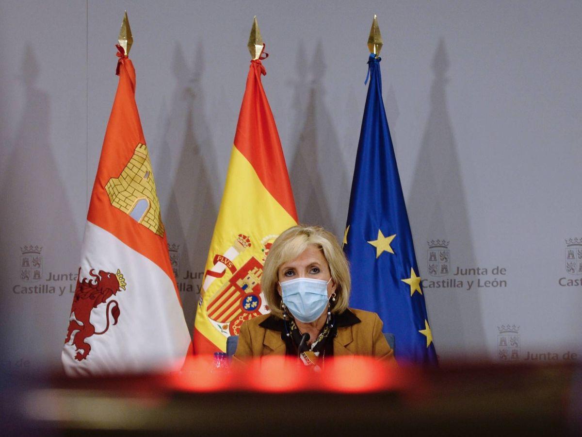 Foto: La consejera de Sanidad de la Junta de Castilla y León , Verónica Casado.  (EFE)