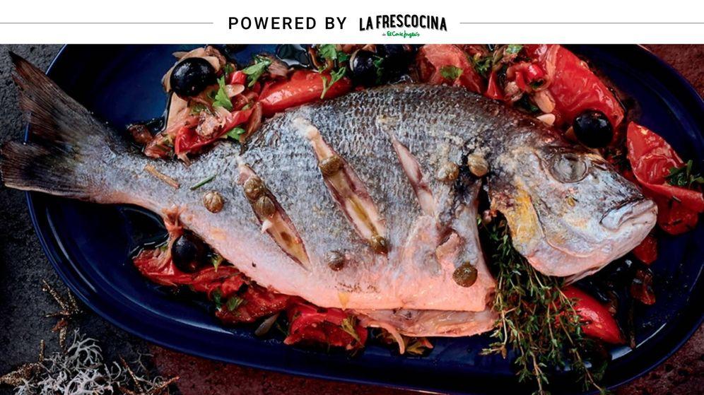 Foto: Dorada al horno con verduras y salsa meunière de alcaparras. (APTC)