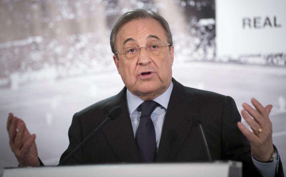 Foto: Florentino Pérez luchará hasta el final para que el Real Madrid sea admitido en la presente edición de la Copa del Rey (EFE)