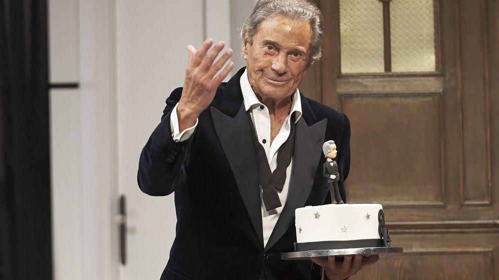Foto: Arturo Fernandez en la celebración de su 89 cumpleaños. (Getty)