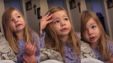 La regañina de una niña de 3 años a su padre porque no baja la tapa del inodoro