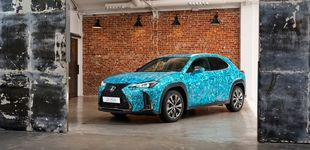 Post de Un Lexus UX cubierto de escamas gana el  Chantilly Arts & Elegance Richard Mille