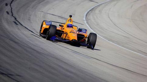 Fernando Alonso y la cruda realidad de su primer día serio en Indianápolis