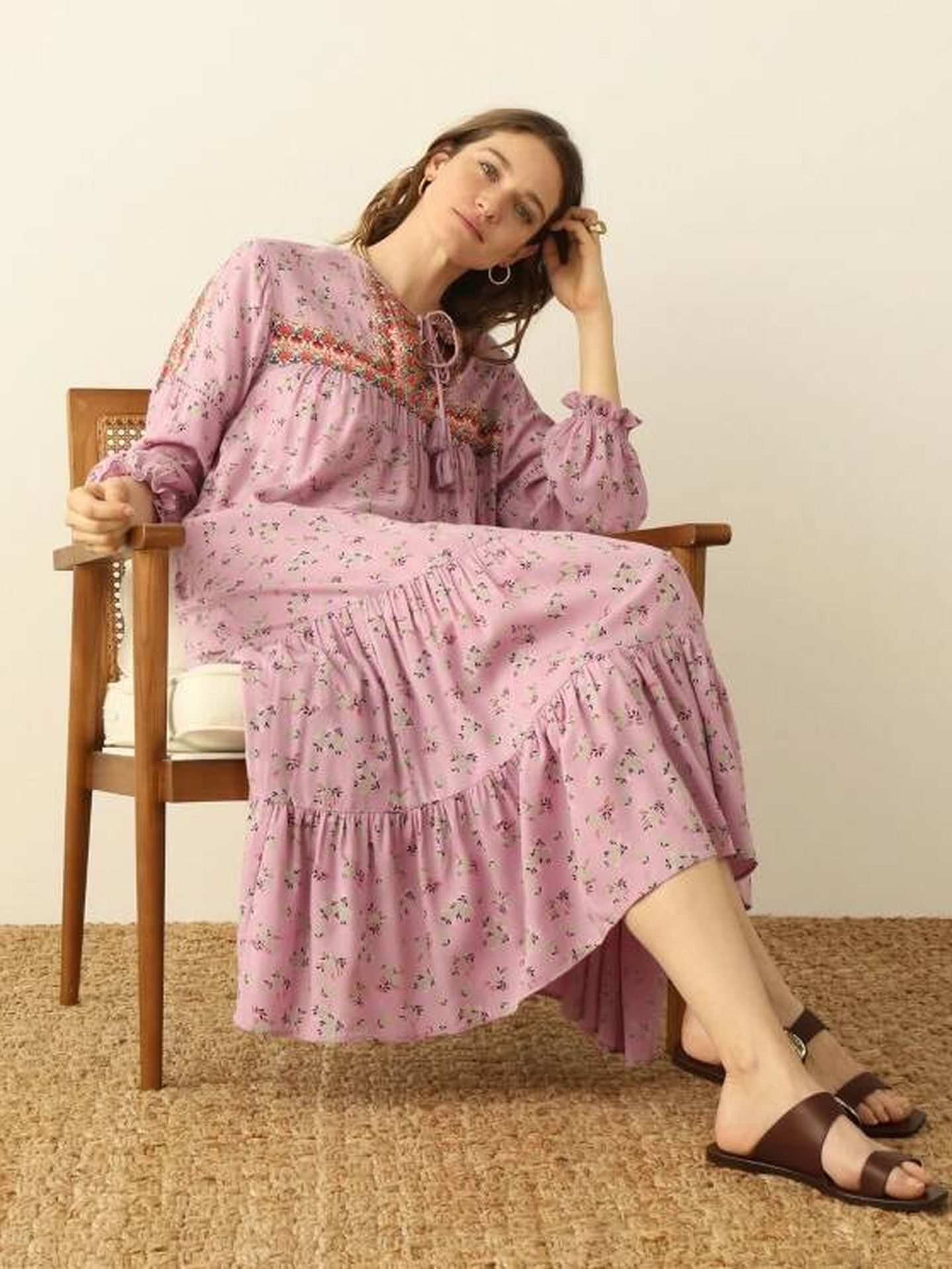 Un vestido de Southern Cotton para El Corte Inglés. (Cortesía)