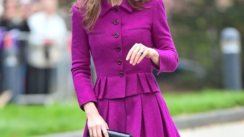 El patinazo de Kate Middleton con un Oscar de la Renta que no convence
