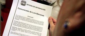 Foto: Bárcenas recibió de Gürtel parte de la comisión cobrada a Teconsa, Hispánica, Begar y FCC