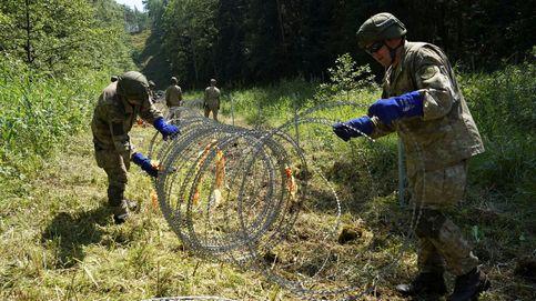 Países bálticos condenan la guerra híbrida de Bielorrusia con inmigrantes