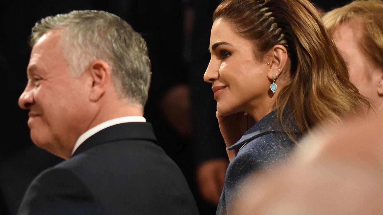 El rey Abdalá II de Jordania y su mujer, la reina Rania, en una imagen de archivo. (EFE)