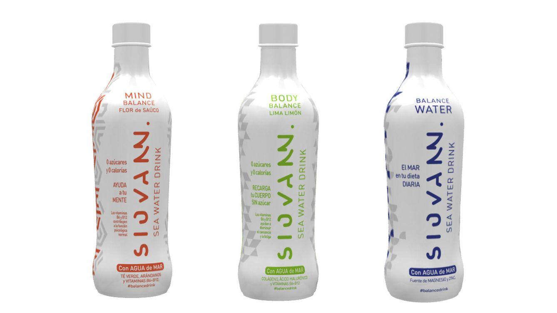 SIOVANN, bebidas saludables con agua de mar pura