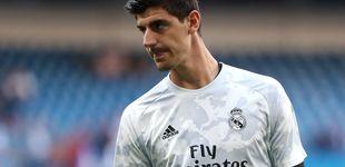 Post de El enfado en el Real Madrid por la 'falsa' ansiedad de Thibaut Courtois