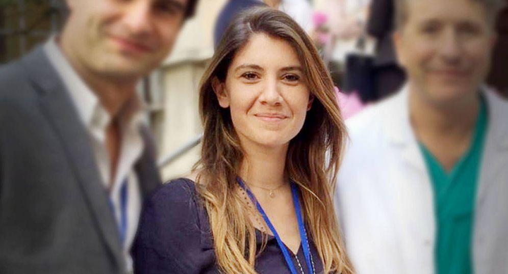 Foto: La vizcondesa de Leza, la doctora Aurora Almadori.