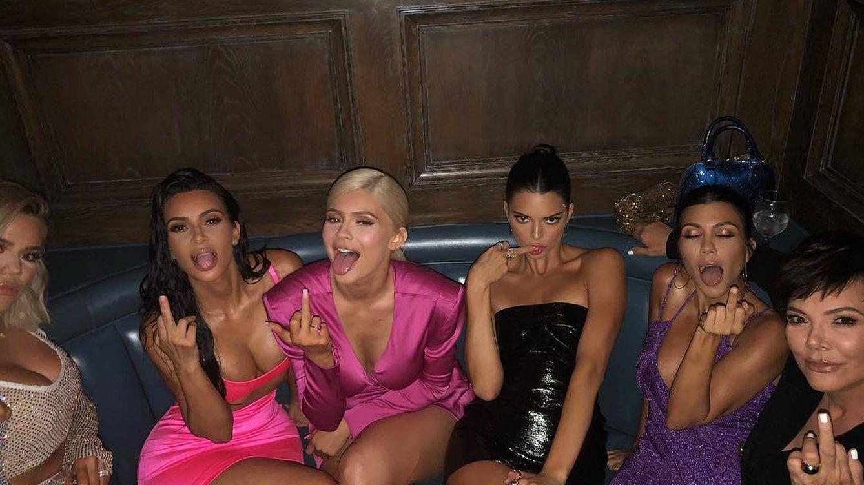 Látex, lúrex y purpurina: los looks más reventones del cumpleaños de Kylie Jenner