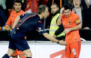 Competición mantiene la roja a Isco... y la amarilla a Leo Messi