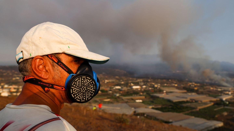 Imagen de la colada desde la montaña de La Laguna. (Reuters)