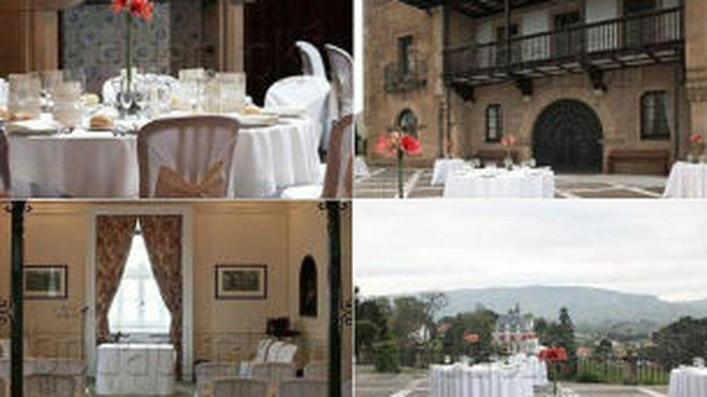 Imágenes del Palacio de la Riega en Somió, Gijón (Asturias)